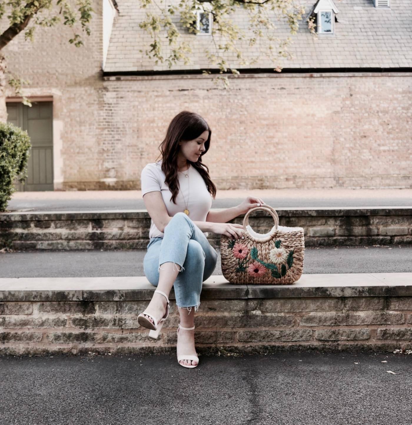 Chic Straw Bags: SAVE V's Splurge